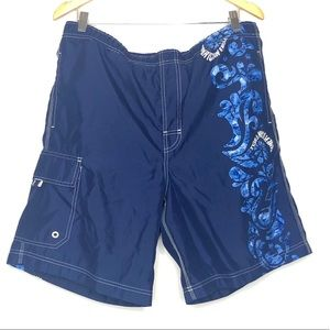 💥 American Eagle Blue Swim Shorts in Sz M